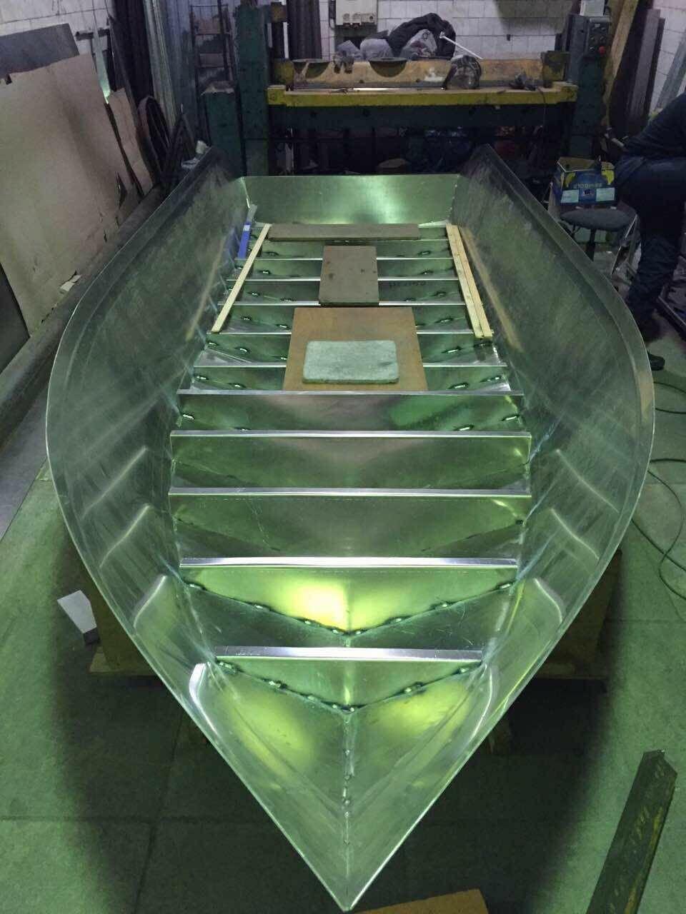 Формы алюминиевых лодок